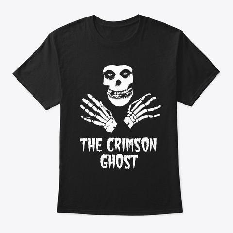 Crimson Ghost Black T-Shirt Front