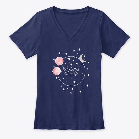 Universe Navy T-Shirt Front