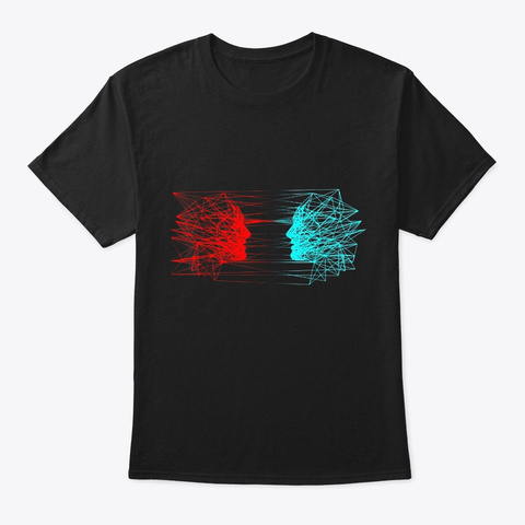 Artificial Intelligence T Shirt Ai Black T-Shirt Front
