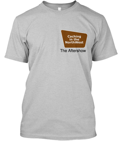 The Aftershow Light Heather Grey  T-Shirt Front