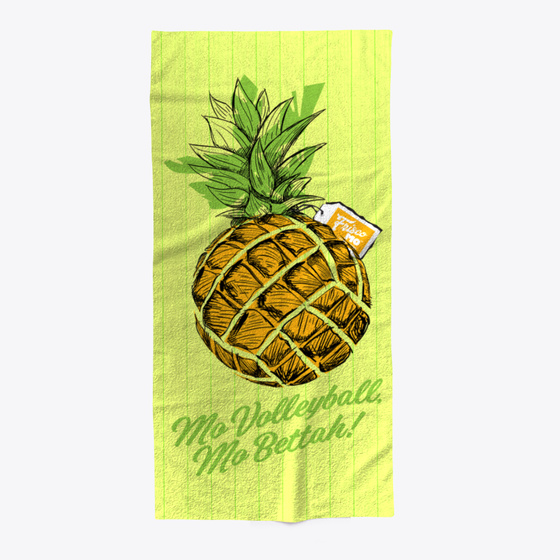 Beach Blanket Volleyball: Welcome Volleyball Pineapple Beach Towel Products From