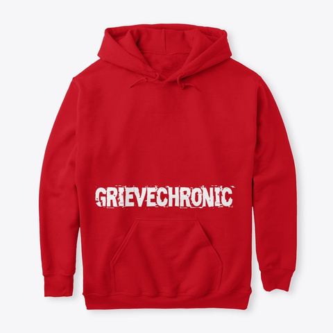 Grievechronic/ Puryf Collection By Aolab Red T-Shirt Front