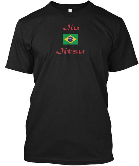 Jiu Jitsu Black T-Shirt Front