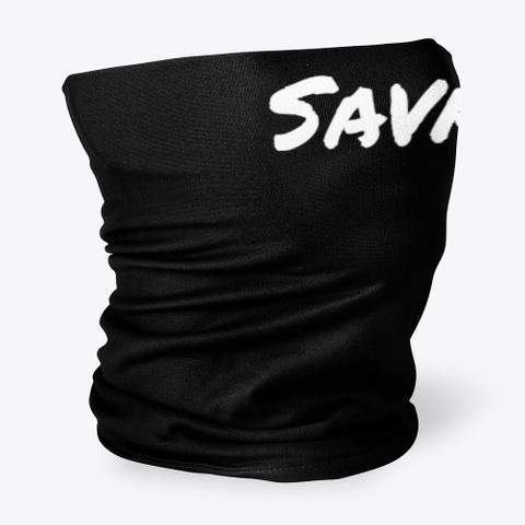 Savage Clothing Black T-Shirt Side