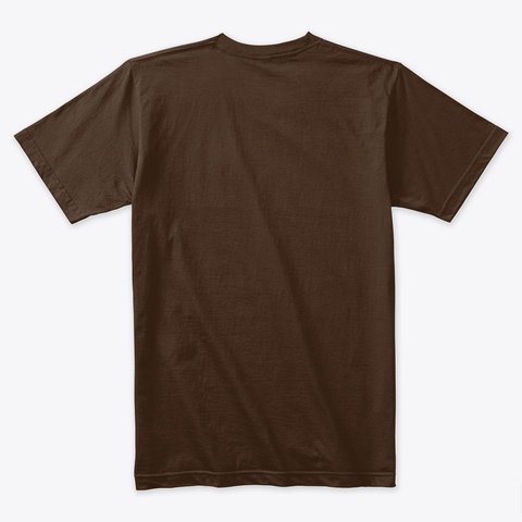 Tony The G.O.A.T. Dark Chocolate T-Shirt Back