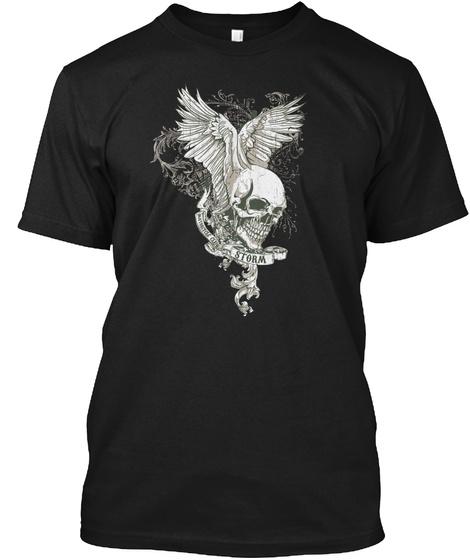Storm Mc Clothing By Nina Levine Black T-Shirt Front