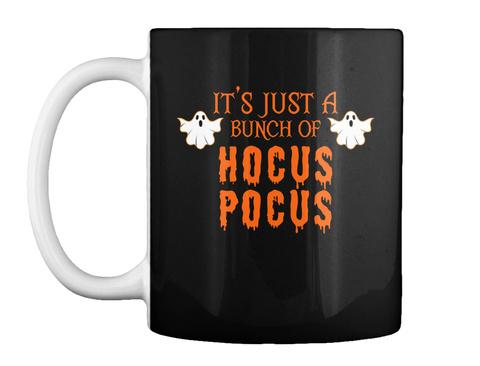 Funny Halloween Mug Black T-Shirt Front