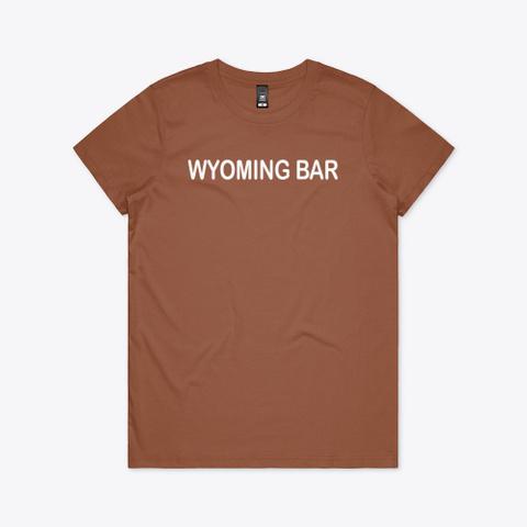 wyoming bar t shirt