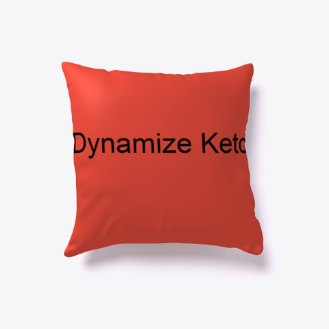 Dynamize Keto |*Updated Reviews* Red T-Shirt Front