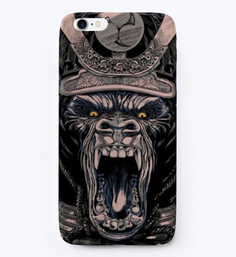 Gorilla Samurai Phone Case Standard T-Shirt Front