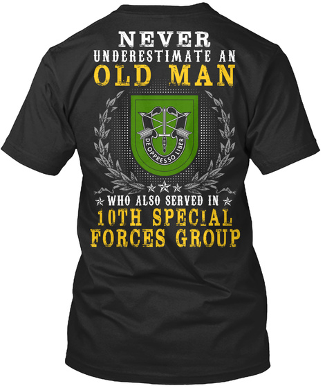 10th Special Forces Group United States Unisex Tshirt