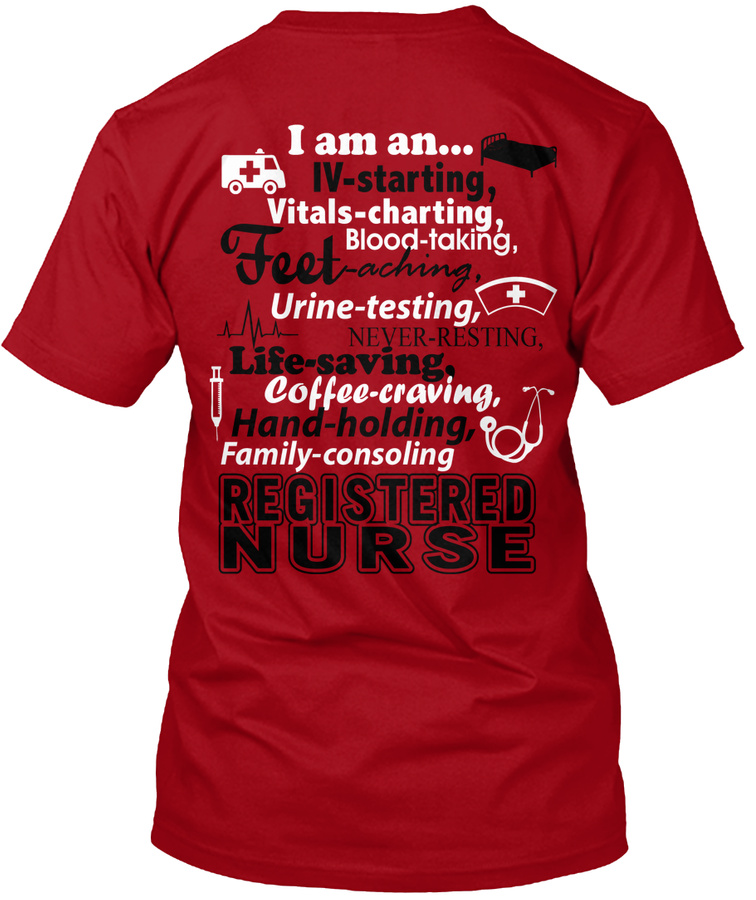 I am a Registered Nurse T-Shirt Unisex Tshirt