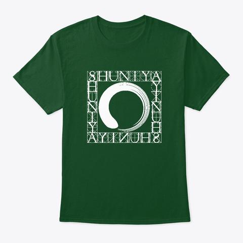 Shuniya – Point Of Stillness  Deep Forest T-Shirt Front