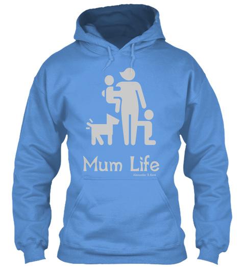 Mum Life Alexander & Kent Carolina Blue T-Shirt Front