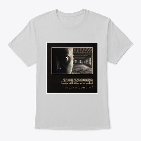 Regain Control: Album Cover Light Steel T-Shirt Front