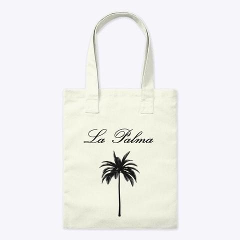 La Palma Rusable Bag Natural T-Shirt Front