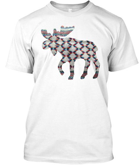 Fab Moose 20 White T-Shirt Front