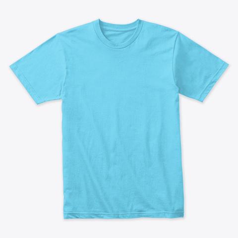 F Off... It's My Lane Too  Tahiti Blue T-Shirt Front