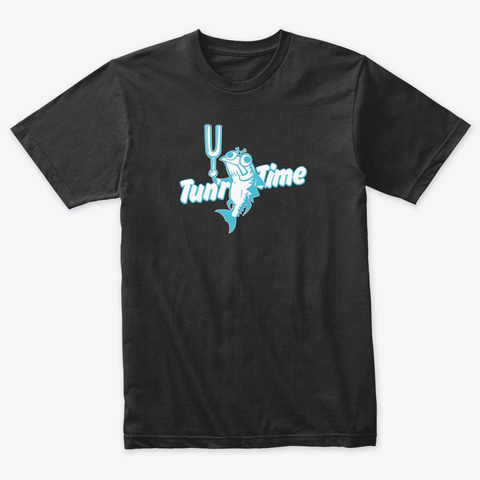 Tun'r Time! Vintage Black T-Shirt Front