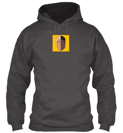 Tgf Bro Logo Apparel (Youtube Logo) Deep Charcoal Sweatshirt Front