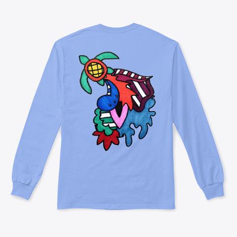Emanate: The Turtle Light Blue T-Shirt Back