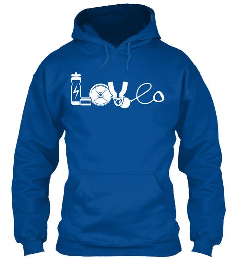 Love Royal T-Shirt Front