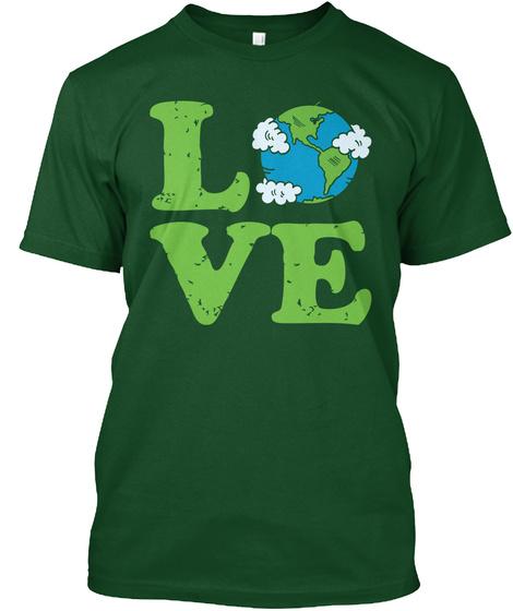 Love Deep Forest T-Shirt Front