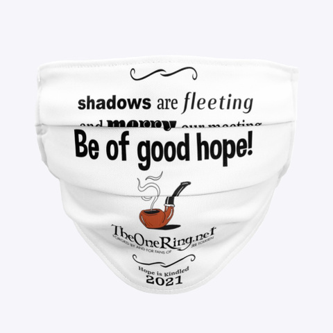 Be Of Good Hope! Standard T-Shirt Front