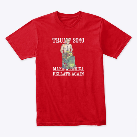 Another 4 Years Will Be Hard To Swallow! Red T-Shirt Front