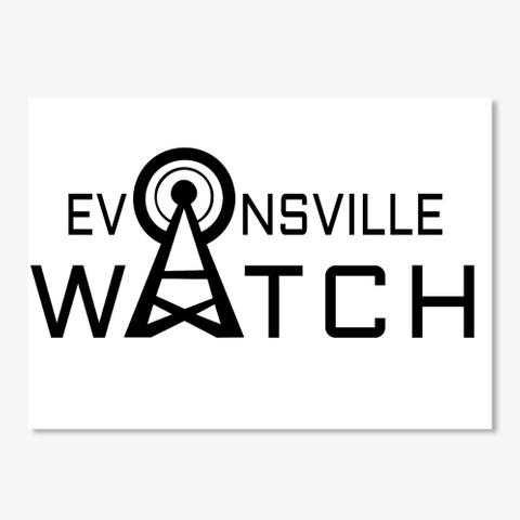 Evansville Watch White T-Shirt Front