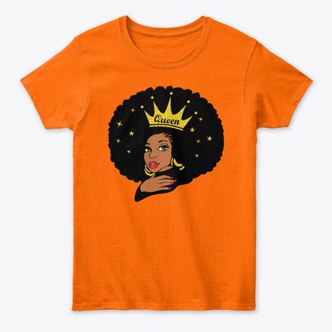 Queen Orange T-Shirt Front