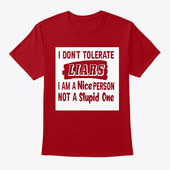 I Dont Tolerate I Am A Nice Person Products from Aba | Teespring