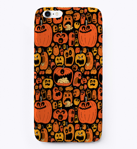 Halloween Special Ihone Case Black T-Shirt Front