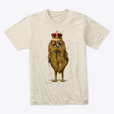 Stolas The Great Demon Cream T-Shirt Front