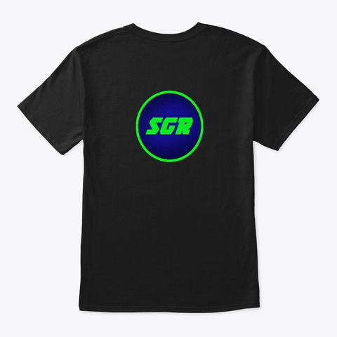 Sgr Logo Black T-Shirt Back