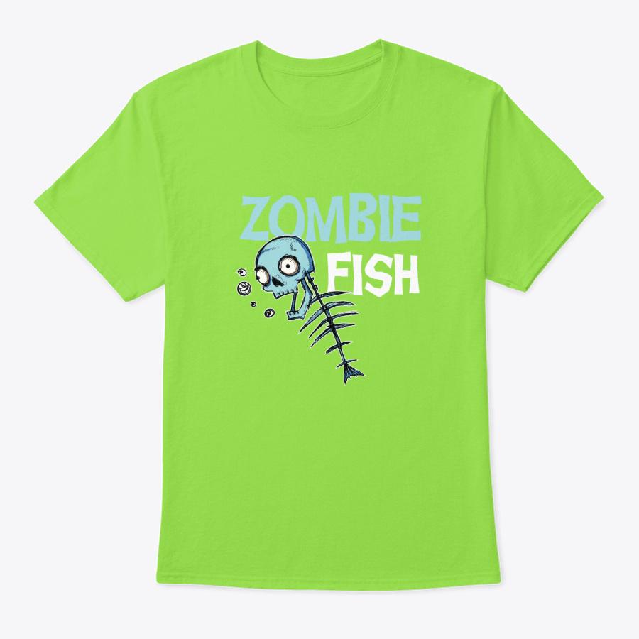Witch - Halloween Zombie Fish Unisex Tshirt