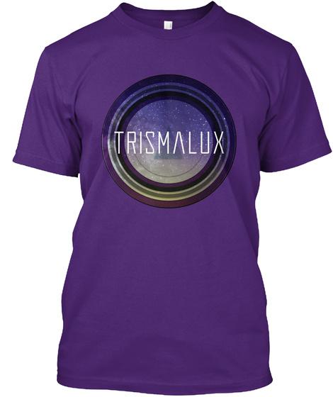 Trismalux Purple T-Shirt Front
