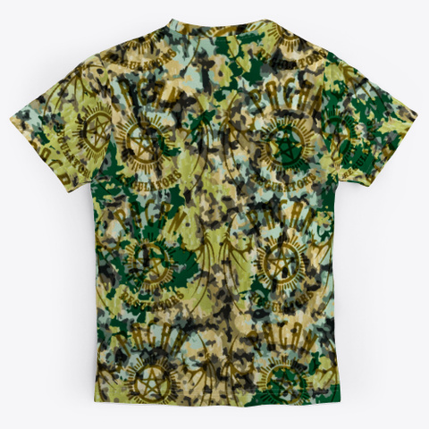 Pagan Regulators Official Standard T-Shirt Back
