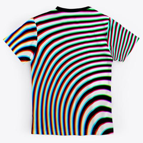 Wobbly Logic Black T-Shirt Back