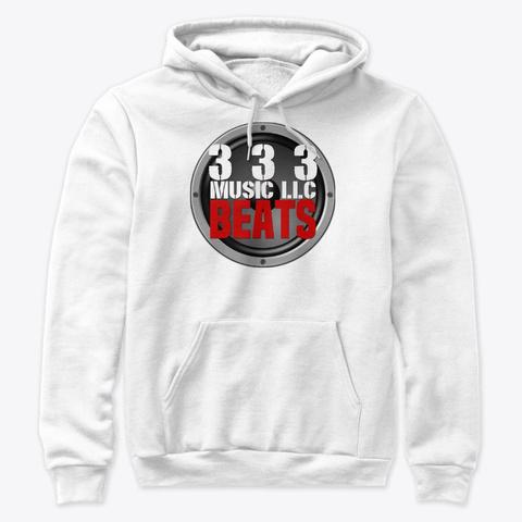 333 Beats Logo White T-Shirt Front