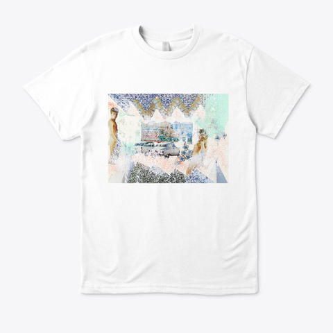 Cars, Wars, Stars. White T-Shirt Front
