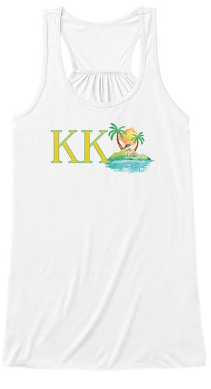 Kk White T-Shirt Front
