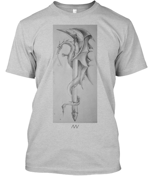 /\/\/ Light Steel T-Shirt Front