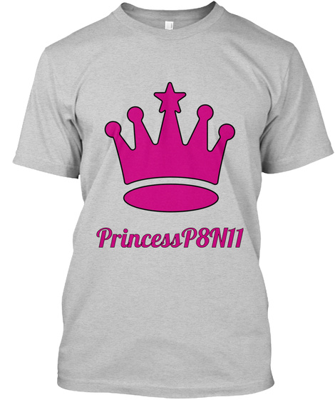 Princess P8 N11 Light Steel T-Shirt Front