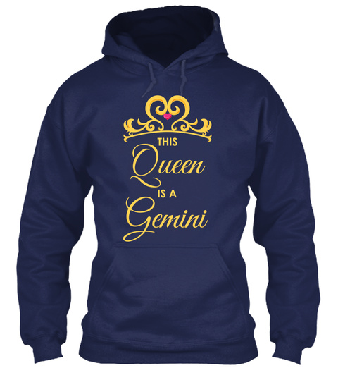 Gemini T Shirt  Navy T-Shirt Front