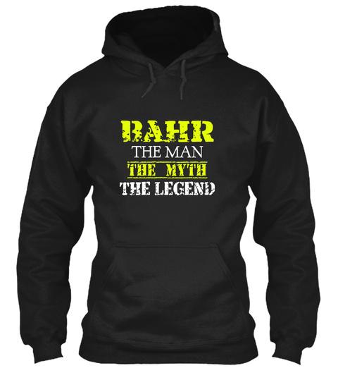 Ba Hr The Man The Myth The Legend Black T-Shirt Front
