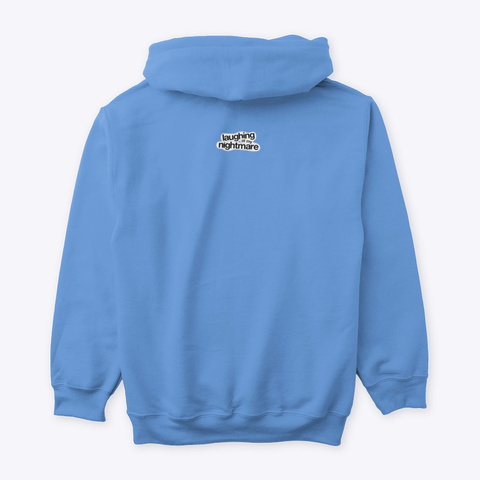 Lamn Hoodie Carolina Blue T-Shirt Back