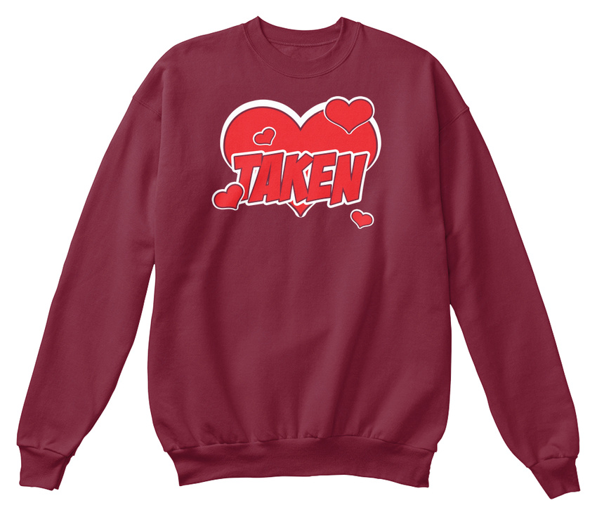 Sweat standard la à Saint Valentin machine unisexe Lavable en shirt pzY4qxwZ