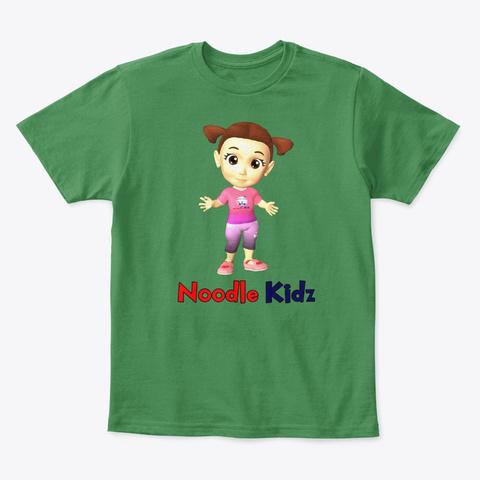 Noni Kids Tee Shirt   Noodle Kidz Kelly Green  T-Shirt Front