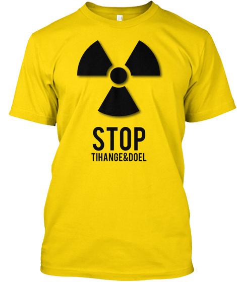 Stop Tihange & Doel Daisy Kaos Front